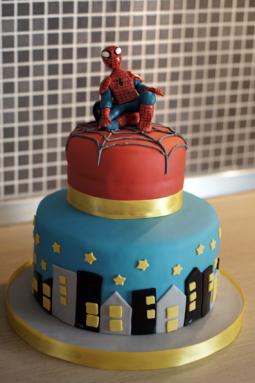 Torrta di compleanno - Spiderman