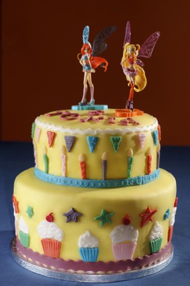 Torta di compleanno winx