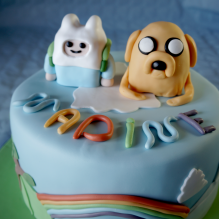 TORTA ADVENTURE TIME - Jake e Finn