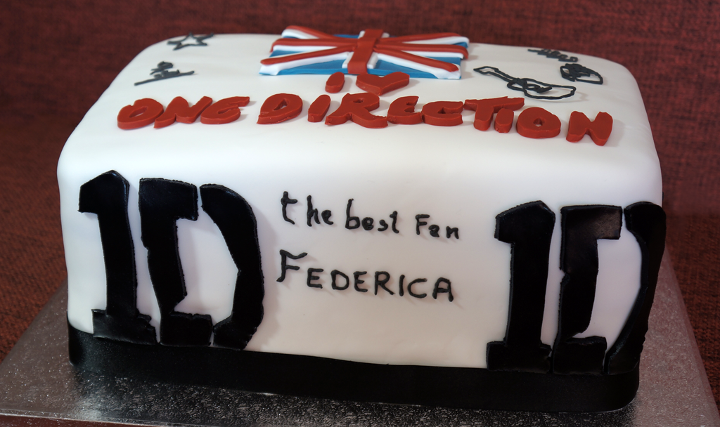 Torta One Direction 01