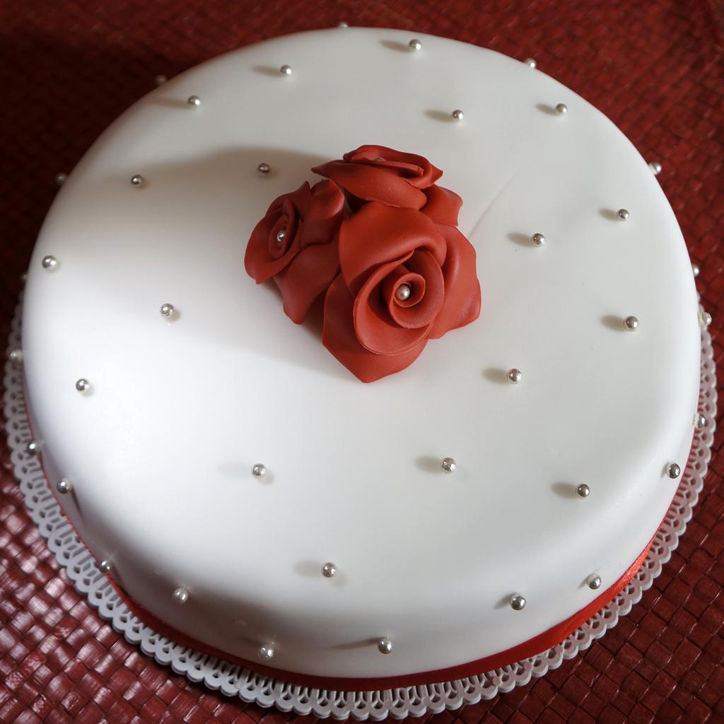 Ben noto Torta anniversario – 40 anni di matrimonio | dolcerossana JA72