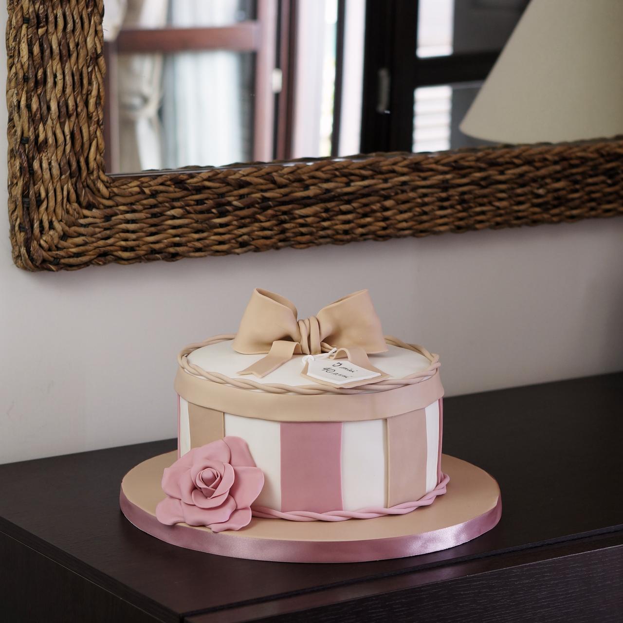 Torta Di Compleanno 40 Anni Dolcerossana