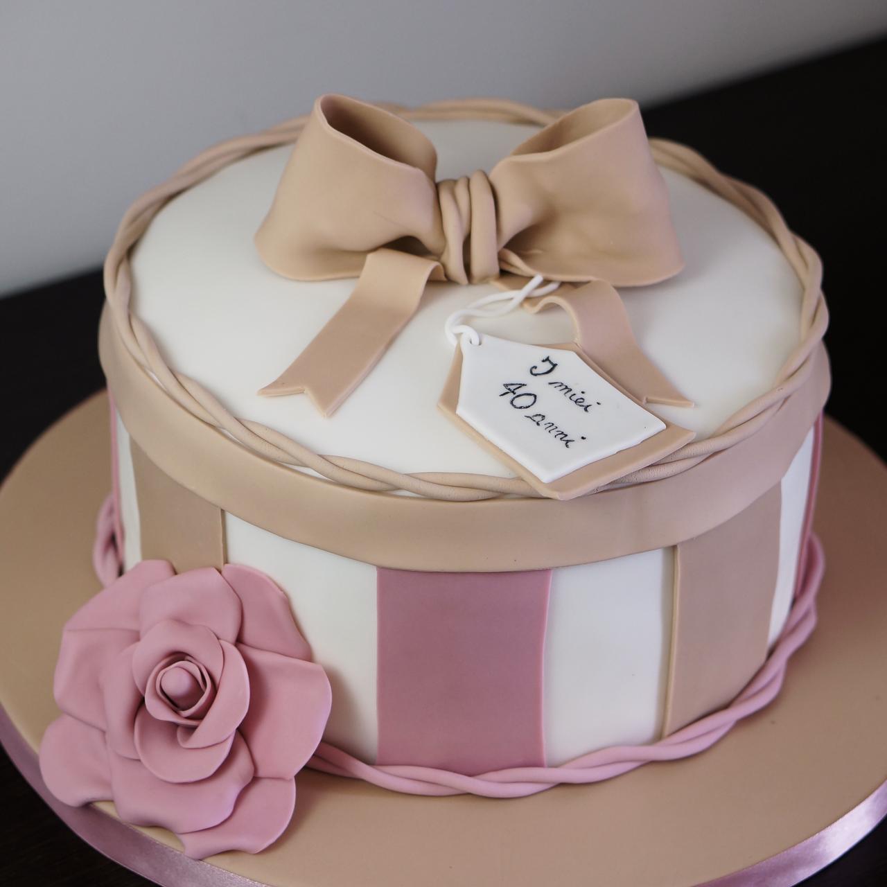 Festa Compleanno 40 Anni torta di compleanno – 40 anni | dolcerossana